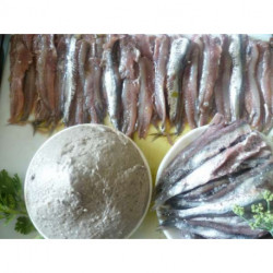 Filets d'anchois marinés