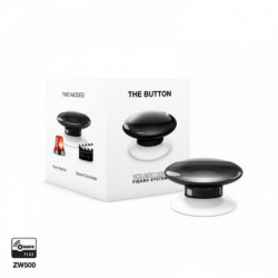 Bouton de commande Z-Wave noir (Button)
